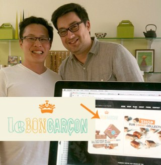 Justin Chao from Le Bon Garcon Caramels here at Matcha Source