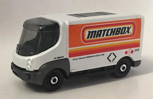 MB1091 : Modec Electric Delivery Van