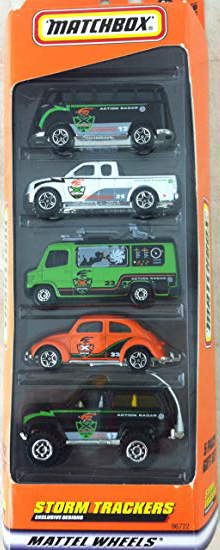 5 pack 2000-12 Storm Trackers