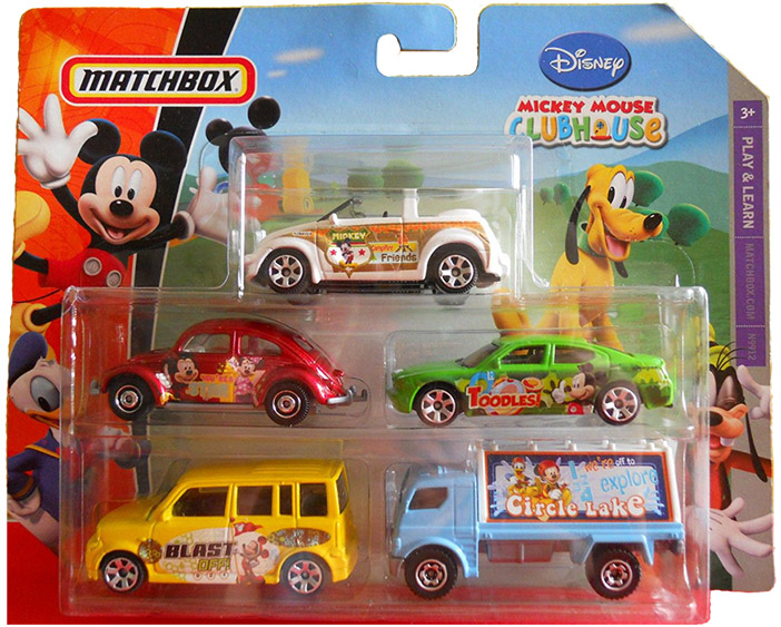 5 Pack - 2009 Mickey Mouse