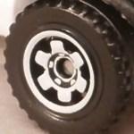 6 Spoke Ringed Gear - White