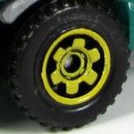 6 Spoke Ringed Gear - Yellow