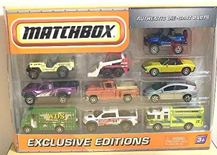 10 Pack : 2010 All Exclusive - First Editions