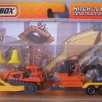 Matchbox 2011 Hitch N Haul : Construction Kings