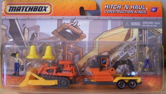 Matchbox 2011 Hitch N Haul : Construction Kings