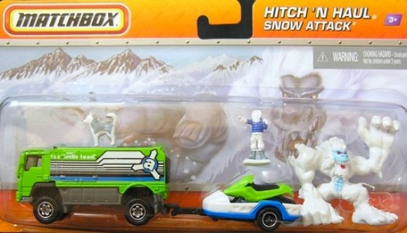 Matchbox Hitch N Haul : Snow Attack 2012