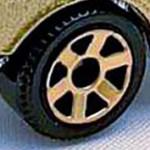 Matchbox 6 Spoke - Gold