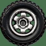 6 Spoke Ringed Gear - Chrome