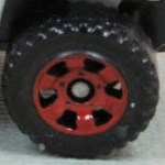 Matchbox Wheels : 6 Spoke Utility - Dark Brown
