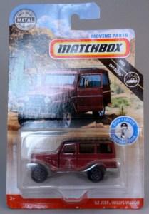 Matchbox MB1141-01 : '62 Jeep Willys Station Wagon