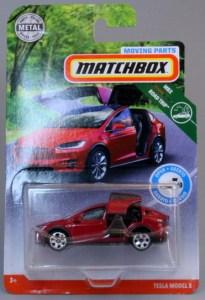 Matchbox MB1142-01 : 2017 Tesla Model X
