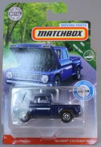 Matchbox MB1143-01 : ´63 Chevy C10 Pickup Truck