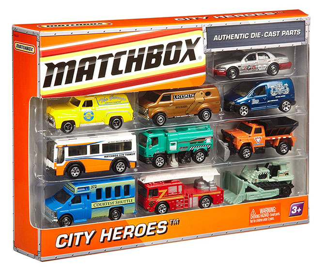 Matchbox 10 Pack - 2010 Exclusive - City Heroes
