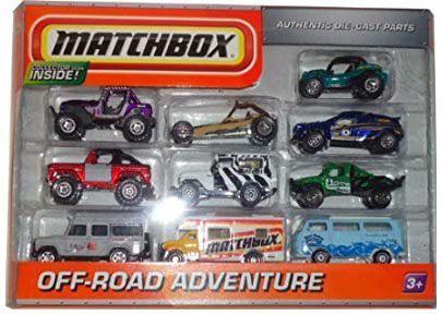 10 Pack : 2010 Exclusive - Off Road Adventure