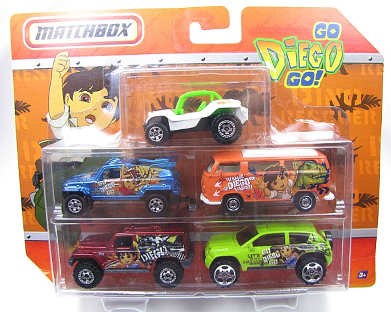 5 Pack - 2011 Go Diego Go
