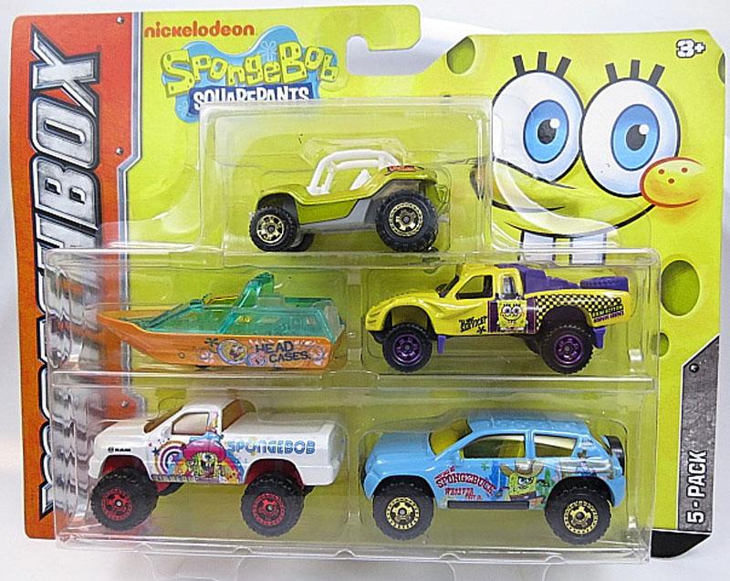 5 Pack : 2012 Spongebob Squarepants