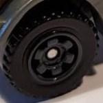 6 Spoke Ringed Gear - Dark Grey