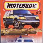 Matchbox 1999 Long Card