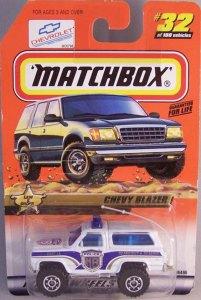 Matchbox 1999 Long Card