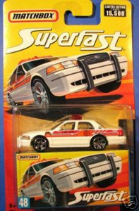 Matchbox MB689-06 : 2006 Ford Crown Victoria Police
