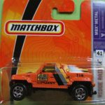 Matchbox 2008 Short Card