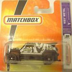 Matchbox 2009 Short Card