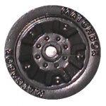 5 Dot Crown - Black