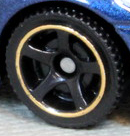 5 Spoke - Black-Gold