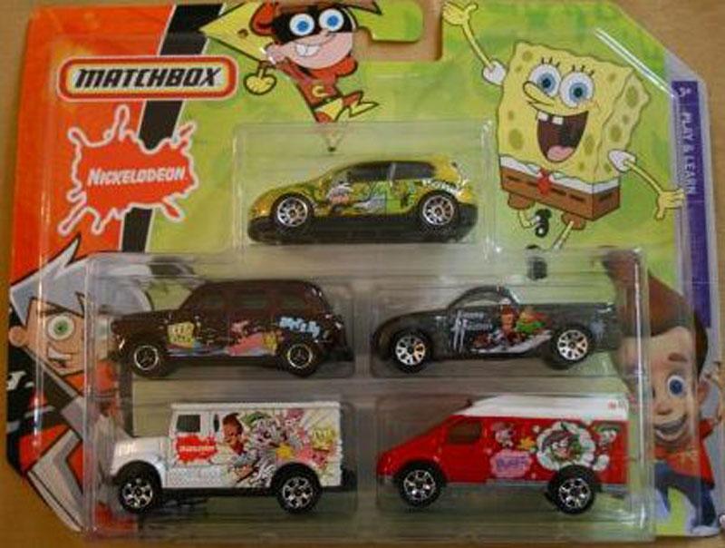 5 Pack : 2008 - Nickelodeon #01