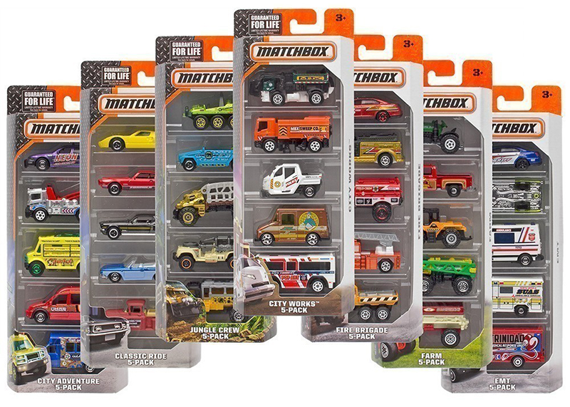 Matchbox 5 Packs