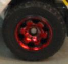 6 Spoke RInged Gear - Red