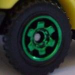 6 Spoke Ringed Gear - Green