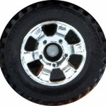 Matchbox Wheels : 6 Spoke Utility - Chrome