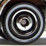 Ringed Disc Whitewall - Chrome