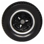 Matchbox Wheels : Tri-Spoke - Chrome