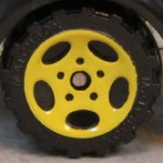 5 Spoke Oval - Yellow