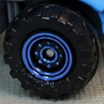 Matchbox Wheels : 8 Dot Dual Ring - Blue