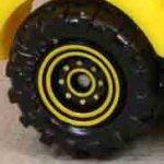 8 Dot Dual Ring - Yellow