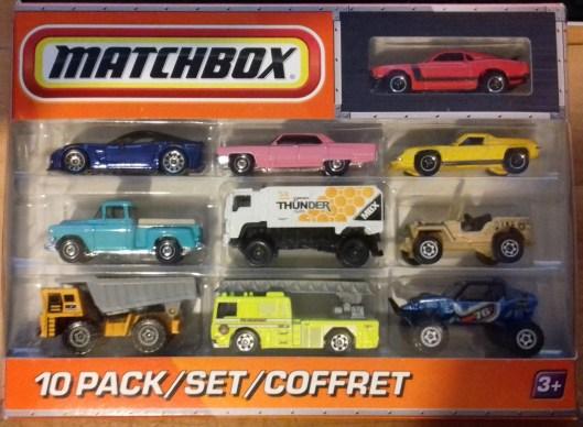 Matchbox 10 pack : 2010 #09
