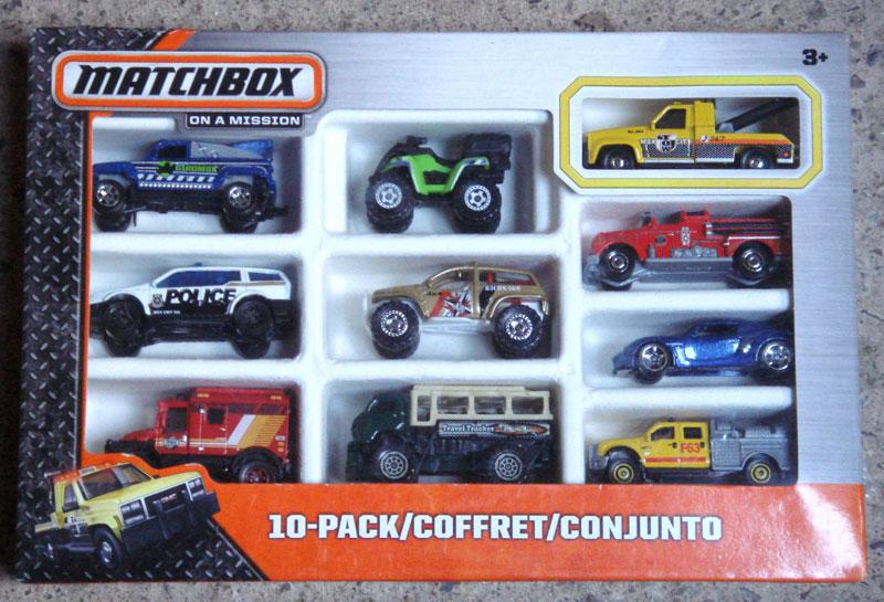 Matchbox 10 Pack : 2014 #05