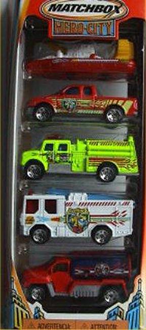 Matchbox 5 Pack : 2004 #01 - Fire Chiefs