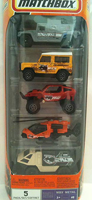 Matchbox 5 Pack : 2009 #08 - Dino Adventure