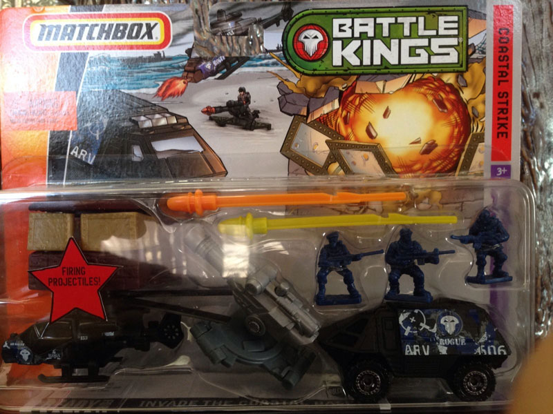Matchbox Battle Kings : Coastal Strike – 2010