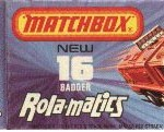 Matchbox Box Type J1