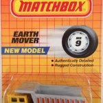 Matchbox Blister - 1989