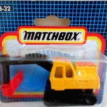 Matchbox 1992 Short Card