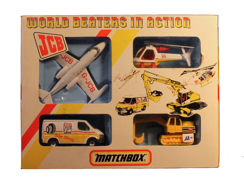 Matchbox World Beaters in Action Set - 1997