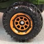 Matchbox 8 Spoke Rimmed - Orange