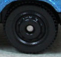 Ringed Disc - Black