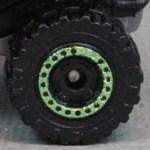 Matchbox Cog wheel - Black-Green
